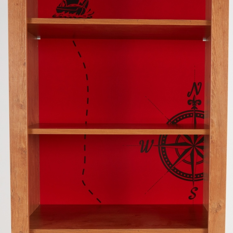 Little Pirate 4-Shelf Book Case with 1-Drawer