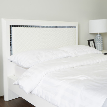 Helen Single Bed with Headboard - 120x200 cms