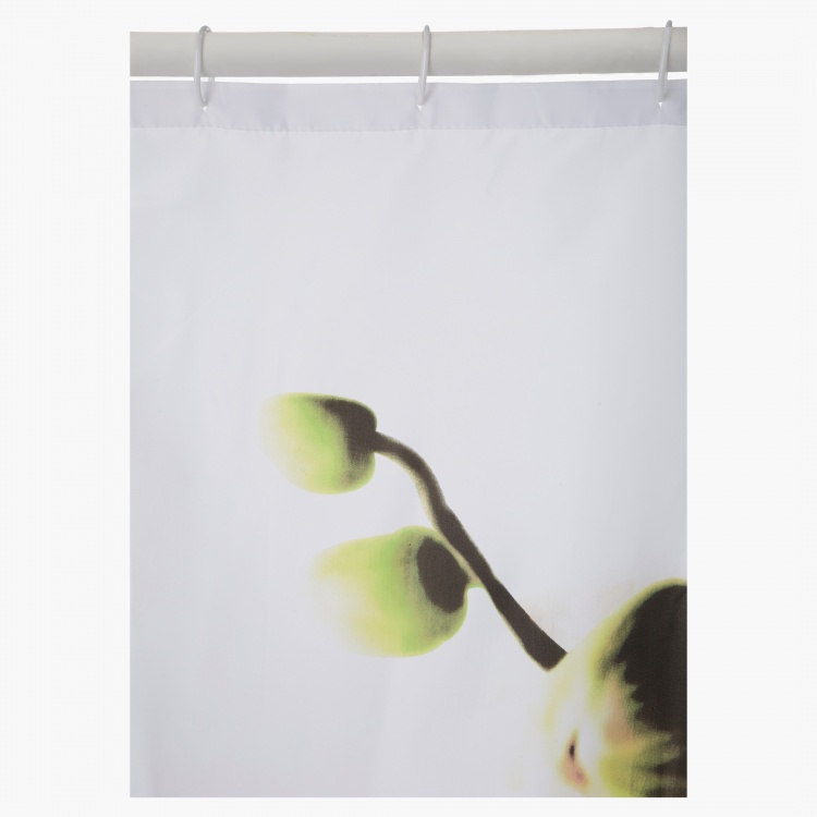 Orchid Shower Curtain - 180x180 cms