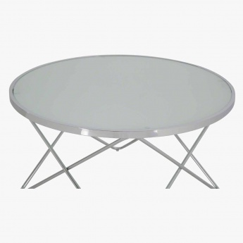 Web Round Coffee Table