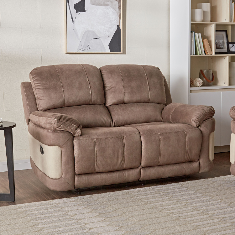 Dawson 2-Seater Fabric Manual Recliners