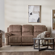 Dawson 3-seater Fabric Manual Recliners