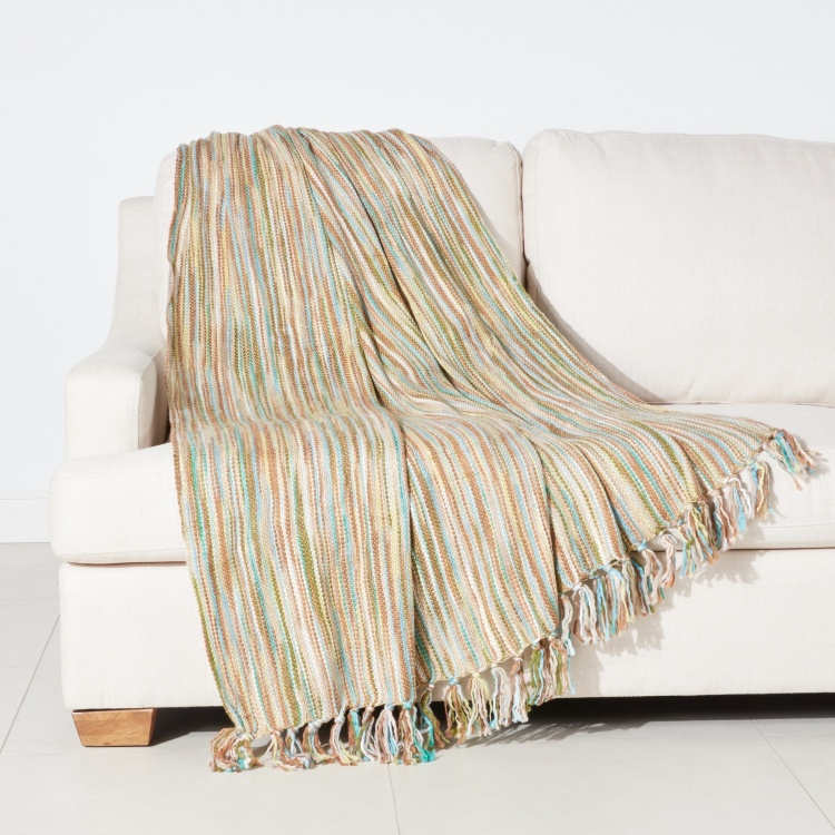 Striped Throw - 146x200 cms