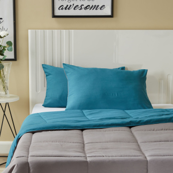 Mateo 3-piece Reversible Full Comforter Set - 160x240 cms