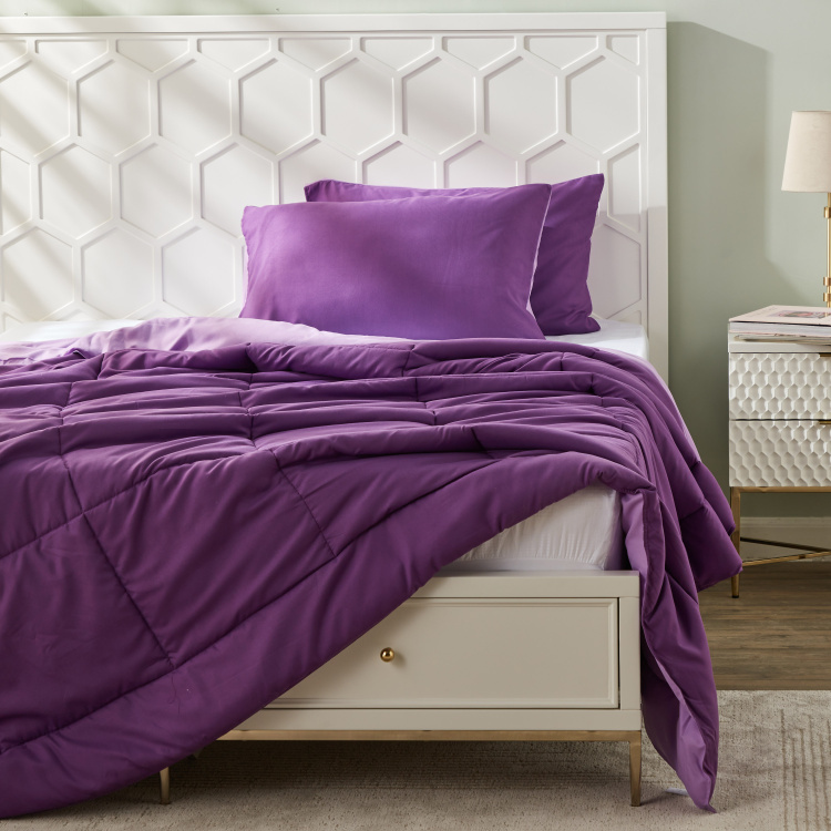 Mateo 3-Piece Reversible Queen Comforter Set