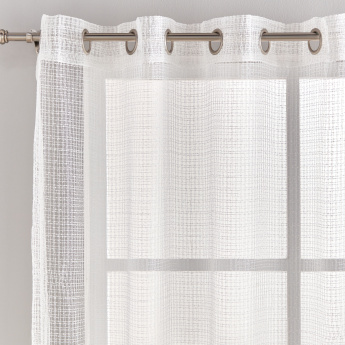 Nanthan 2-Piece Sheer Curtain Set - 140x240 cms