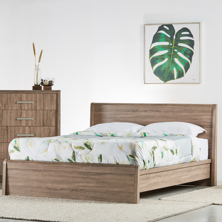 Saturn Queen Size Bed - 155x205 cm