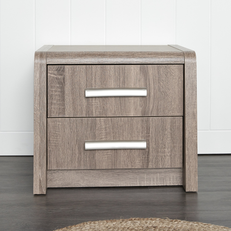 Saturn 2-Drawer Nightstand