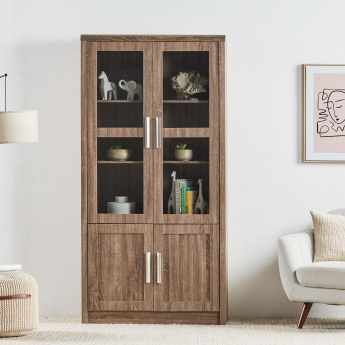 Saturn 4-Door Bookcase