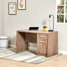 Saturn 1-Drawer Desk with 1-Door
