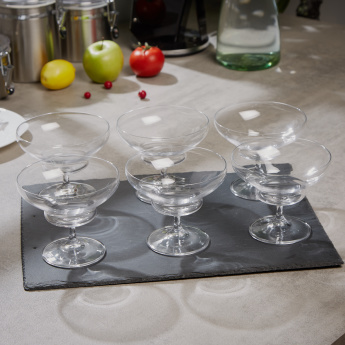 Banquet Degustation Dessert Goblet Glass - Set of 6