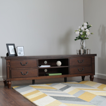 Myler TV Unit with 4-Pull Out Drawers