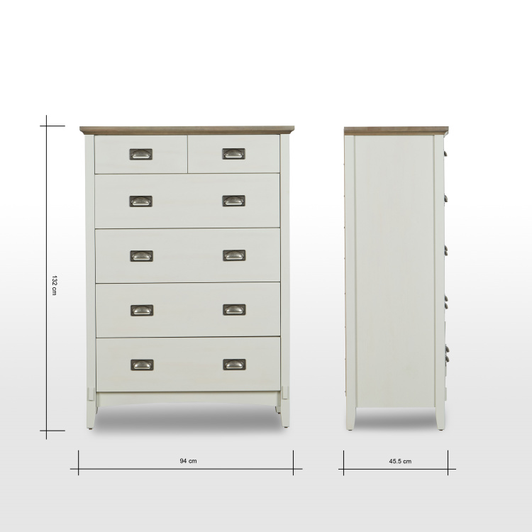 Louis Chest of 6-Drawers