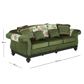 Brooklyn 3-seater Sofa