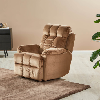 Berry Manual Recliner Chair with Splayed Arms