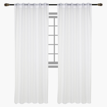 Kendall Sheer Curtain Pair - 140x240 cms