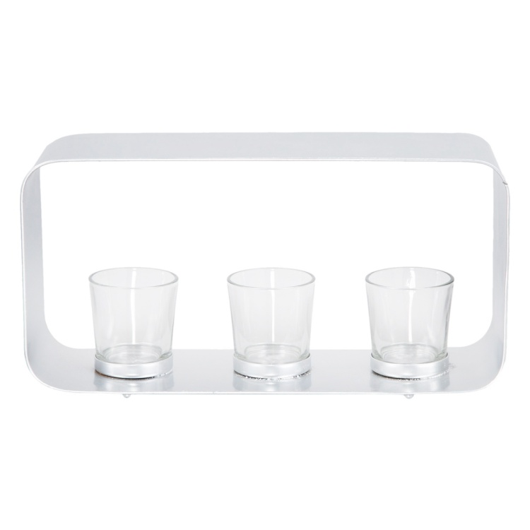Curve Tea-light Holder - Set of 3
