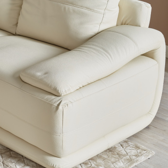 Alfred 6-Seater Left Corner Sofa with Splayed Arms