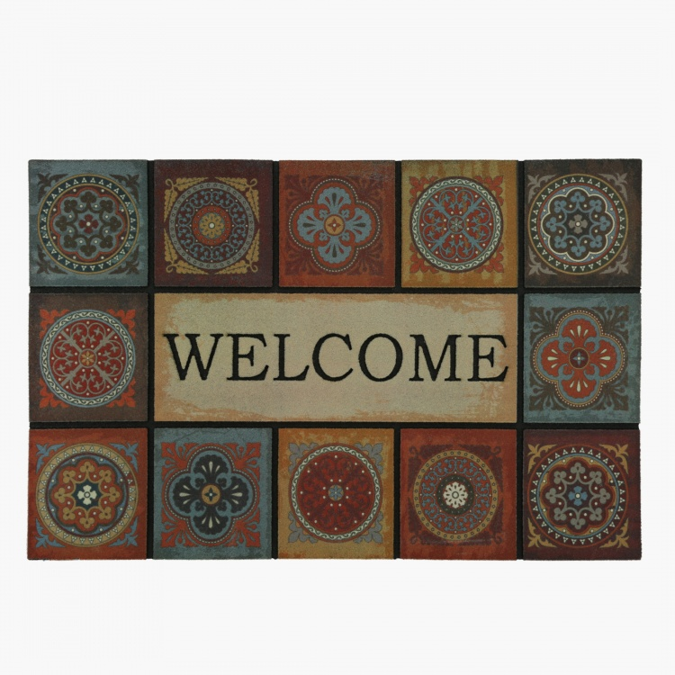 Mural Welcome Door Mat - 60x90 cms