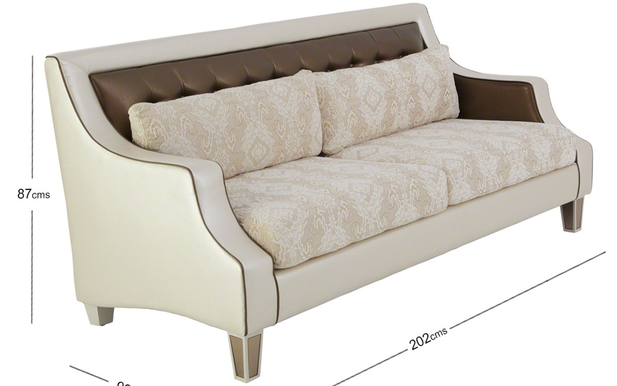 Kingston 3-seater Sofa