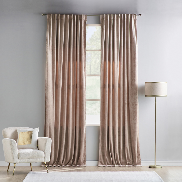 Sheldon Curtain Pair - 140x300 cms