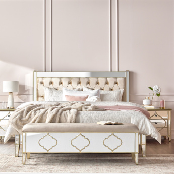 Casablanca 3-Drawer Nightstand