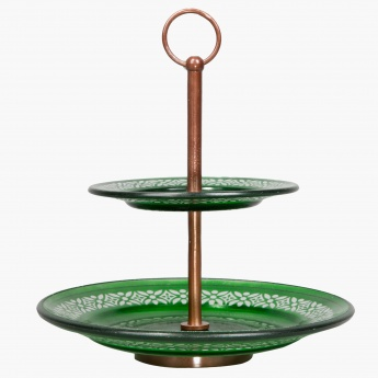 Royal Tarifa Cake Stand with 2 Tiers