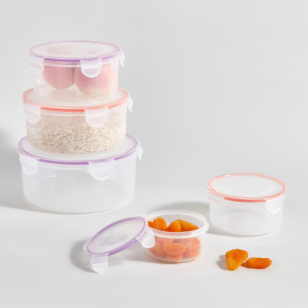 Madison 5-Piece Air Tight Container Set with Lids
