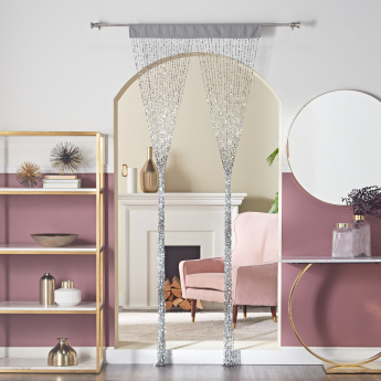 Juliana Square Sequin String Curtain - 90x240 cms