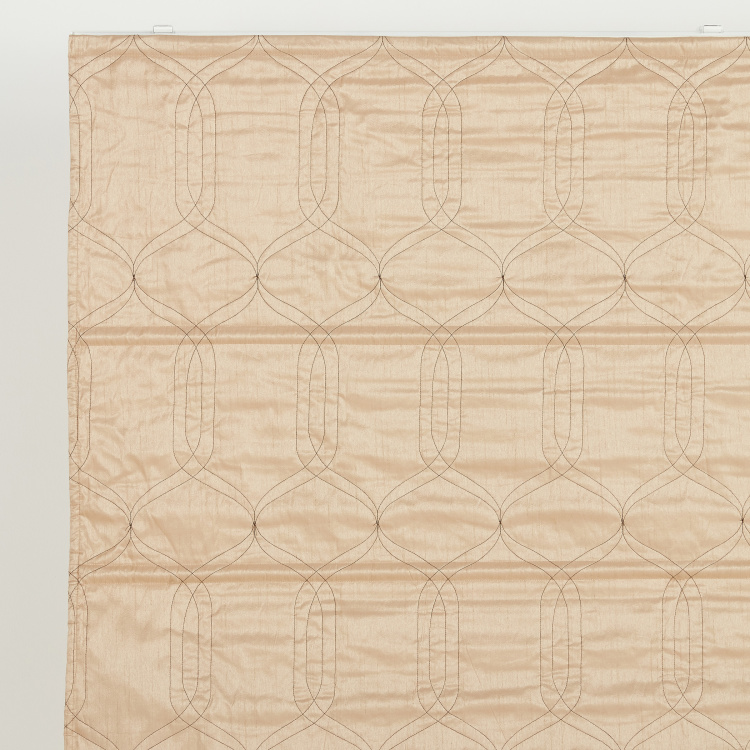 Quilted Mega Roman Blind