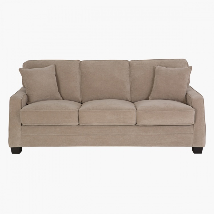 Galaxy 3-seater Fabric Sofa