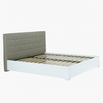 Moderno King Bed with Tufted Headboard - 180x210 cms