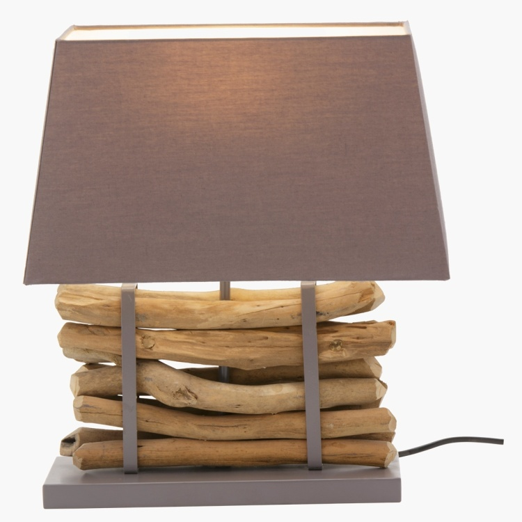 Cypress Handcrafted Matte Finish Table Lamp - 44 cms