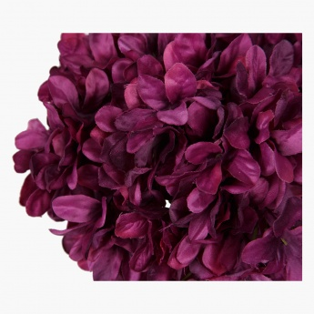 Celebration Hydrangea Spray with Leaves 91.5 cms
