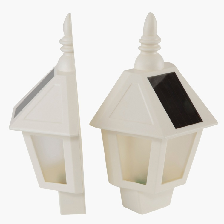 Solar Wall Light 28x19.5x10 cms - Set of 2