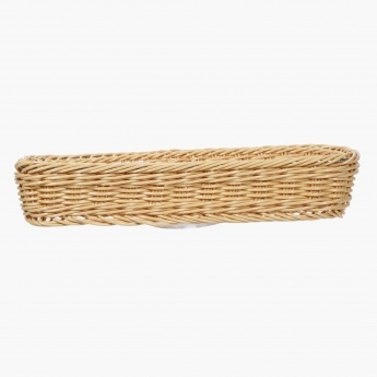 Mystique Rectangular Handwoven Basket - 31.8x11x5.5 cms
