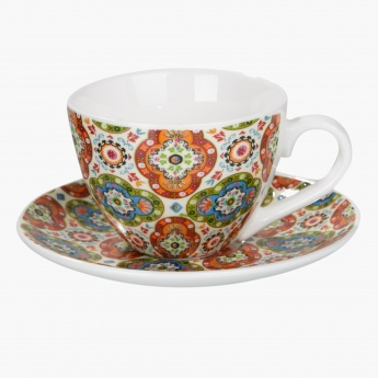 Grand Bazaar 12-piece Cup and Saucer Set 100 ML