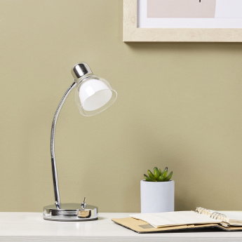 Brooks Adjustable LED Study Lamp - 36 cms
