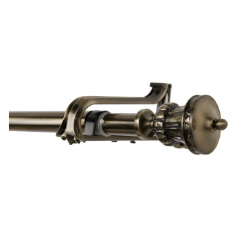 Trophy Double Curtain Rod - 133-365 cms