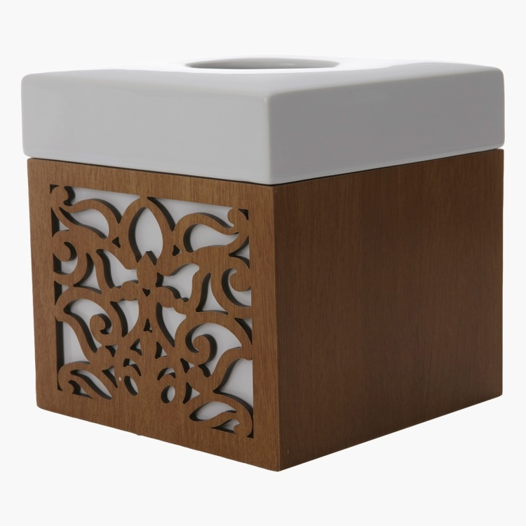 Russell Matte Finish Tissue Box Cover
