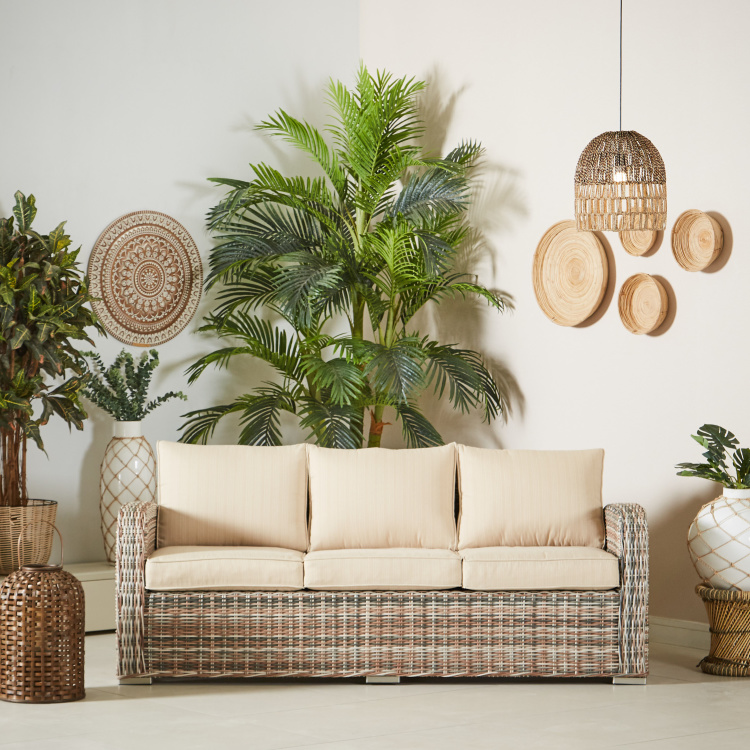 Tahiti 3-Seater Fabric Sofa