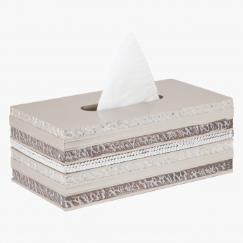 Sequin Tissue Box Cover