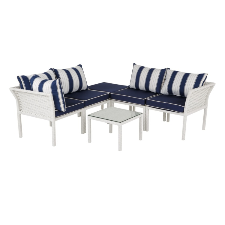 Lucia Corner Sofa with Table