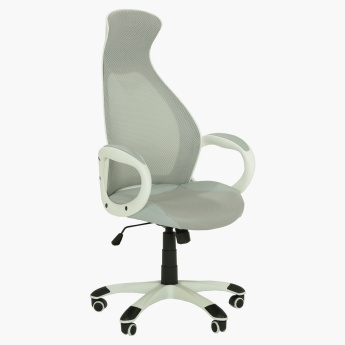 Moderno Height Adjustable Office Chair with Castors