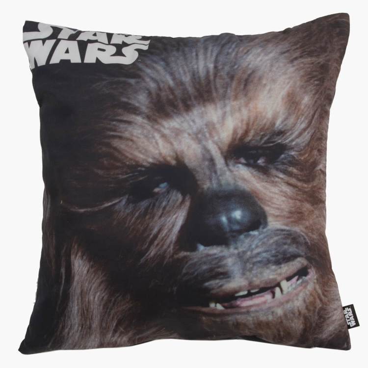 Star Wars Cushion Cover Yoda & Chewbacca - 45x45 cms