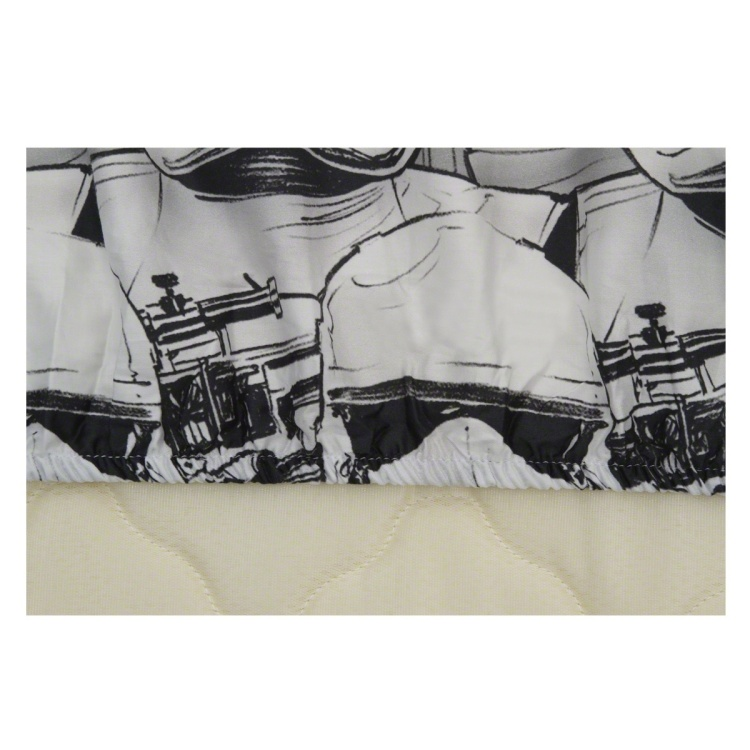 Star Wars Stormtrooper Fitted Sheet Single - 90x190 cms