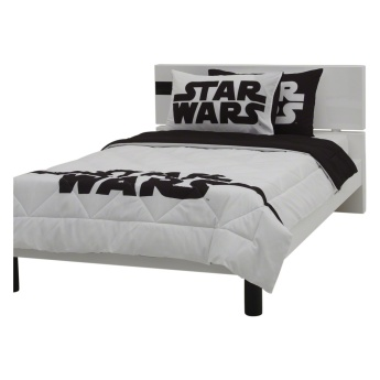 Star Wars Reversible 2-piece Single Comforter Set - 135x220 cms