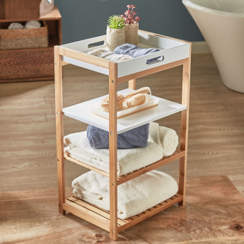Brookline 4-Tier Bath Rack