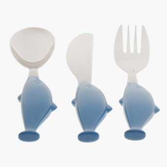 Mr Whale Cutlery - Set of 3