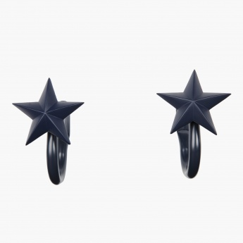 Star Charmz Moulded Curtain Holdback - Set of 2